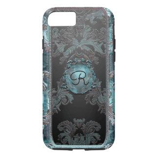 Junobea Peg Victorian Damask Monogram iPhone 7 Case