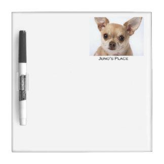 Juno's Dry Erase Board