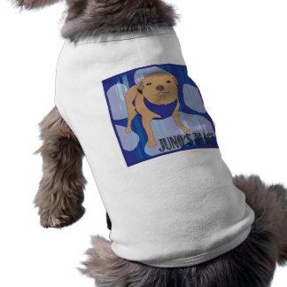 Juno's Place Blue Logo dog shirt! Pet Shirt