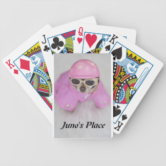Juno's Place Deck of cards! Bicycle Playing Cards