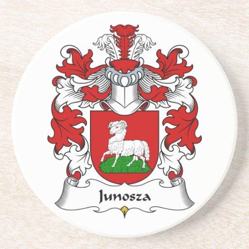Junosza Family Crest Beverage Coasters