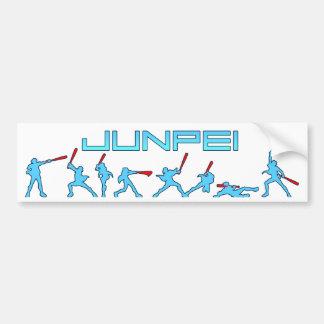Junpei - Home Run! Bumper Sticker