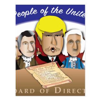 Junta directiva tarjetas postales
