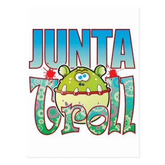 Junta Troll Postcard