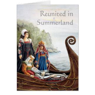 Juntado en Summerland Tarjeta De Felicitación