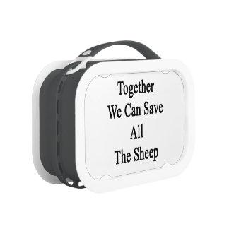 Juntas podemos ahorrar todas las ovejas