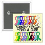 Juntas podemos encontrar cintas de un cáncer de la pin