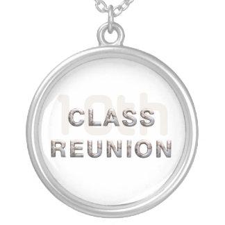 JUNTE CON TE la 10ma reunión de antiguos alumnos Colgante Personalizado