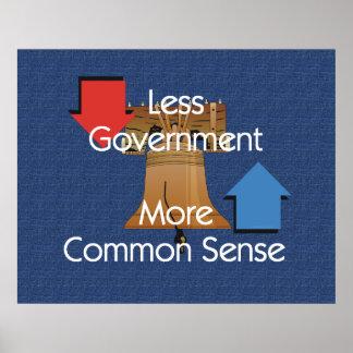 JUNTE CON TE menos sentido más común del gobierno Poster
