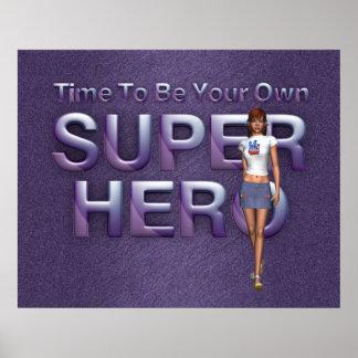 JUNTE CON TE para poseer al super héroe Poster