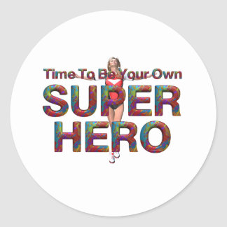 JUNTE CON TE para poseer al super héroe Pegatina