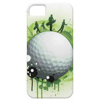 Juntemos con te apagado para el golf iPhone 5 cárcasas