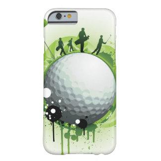Juntemos con te apagado para el golf funda de iPhone 6 barely there
