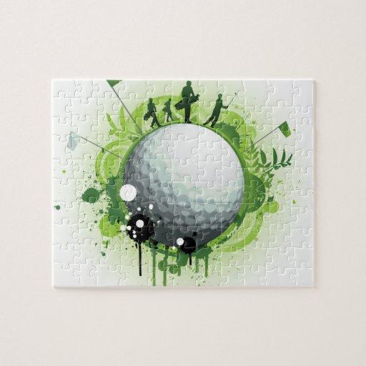 Juntemos con te apagado para el golf puzzle con fotos
