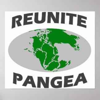 Júntese Pangea Póster