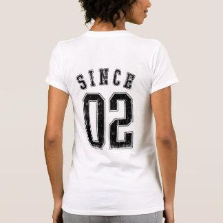 Junto desde 2002 camisas