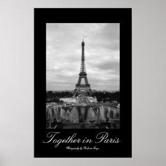 Junto en París Póster