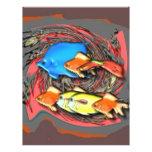 Junto fish2 tarjeta publicitaria