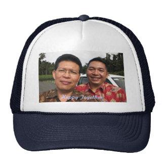 Junto gorra personalizado feliz