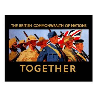 Junto ~ la Commonwealth británica de naciones Postales