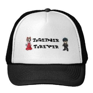 Junto para siempre gorras de camionero