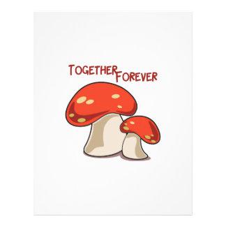 Junto para siempre membrete