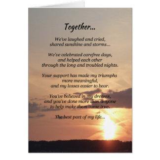 Junto… Felicitacion