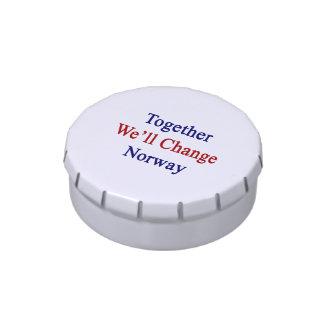 Juntos cambiaremos Noruega Latas De Dulces