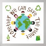 Juntos podemos ahorrar el planeta impresiones