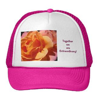 ¡Juntos somos extraordinarios! se divierte rosas d Gorra
