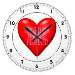 Juntos somos perfectos relojes de pared