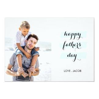 """Juntos somos tarjeta del día de padre de la invitación 5"""" x 7"""""""