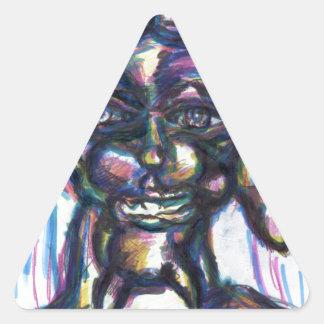 Junun Jungles Triangle Sticker