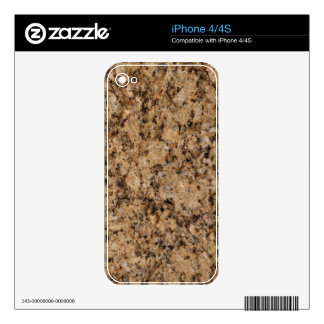 Juparana Decorative Stone - Classic Beauty Skin For The iPhone 4