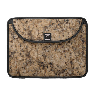 Juparana Stone Pattern Background Sleeve For MacBook Pro