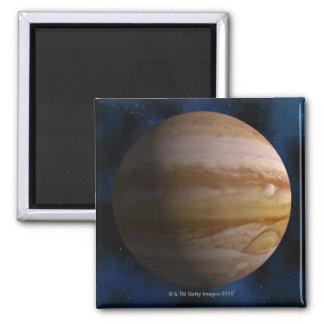 Jupiter 2 Inch Square Magnet