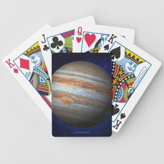 Jupiter 4 bicycle playing cards