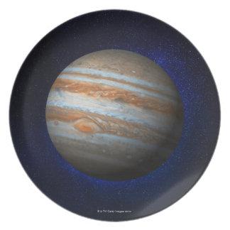 Jupiter 4 dinner plate