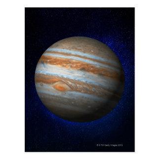 Júpiter 4 tarjetas postales