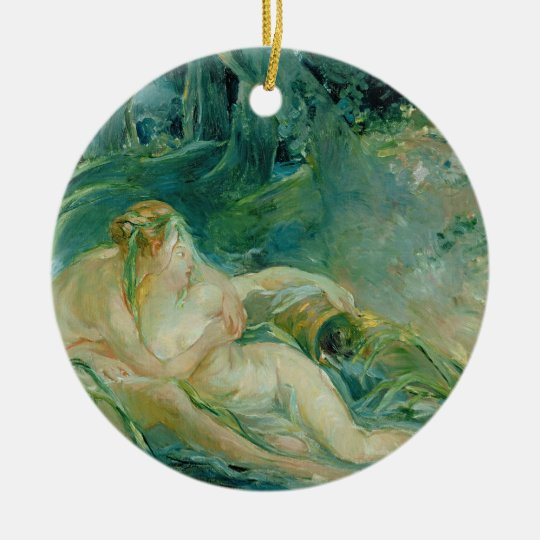 Jupiter and Callisto, after a painting by Boucher Ceramic Ornament