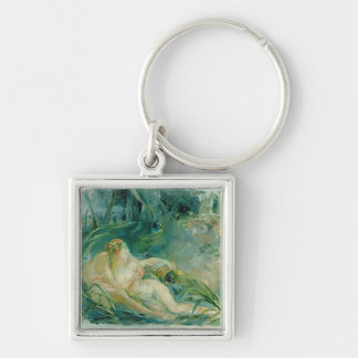 Jupiter and Callisto, after a painting by Boucher Keychain