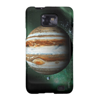 Jupiter and Earth Comparison Galaxy SII Covers