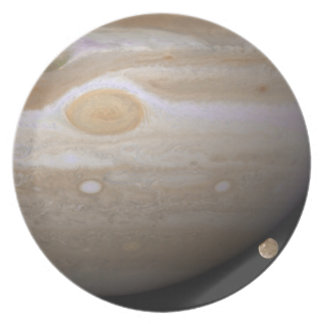 Jupiter and Ganymede Dinner Plate