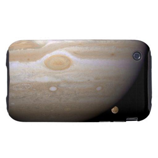 Jupiter and Ganymede iPhone 3 Tough Cases