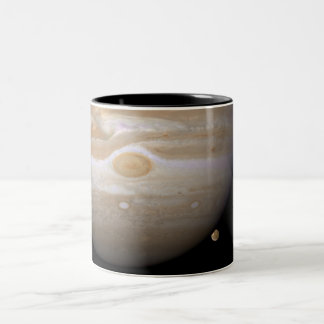 Jupiter and Ganymede Two-Tone Coffee Mug