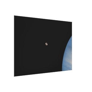 Jupiter and Io Canvas Print