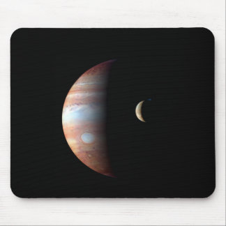 Jupiter and Io Mouse Pad