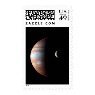 Jupiter and Io Stamps