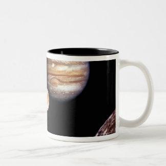 Jupiter and its Moons Mugs