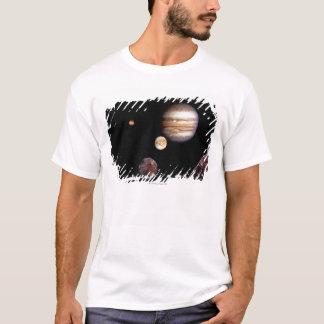 Jupiter and its Moons T-Shirt
